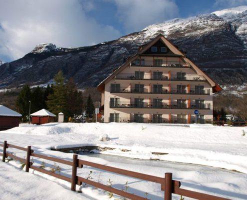 hotel Mangart Bovec