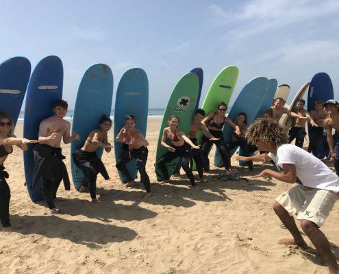 Surfanje in joga Taghazout