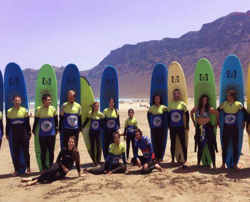 Surfanje Lanzarote