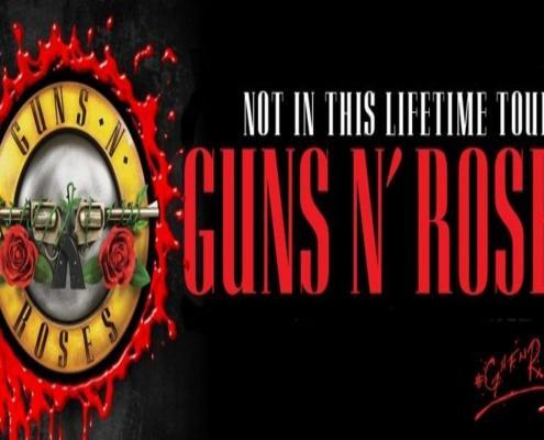Koncert Guns N' Roses.
