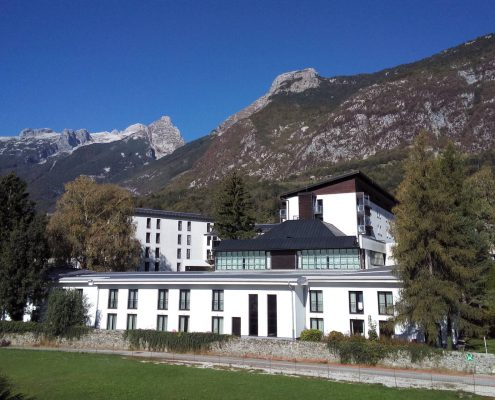 Hotel Alp in rafting