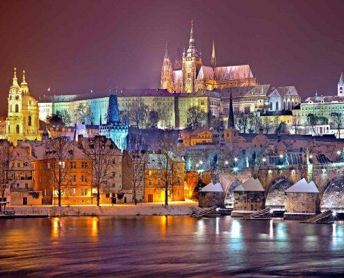 Predbožična Praga