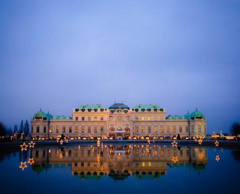 Dunaj, Praga, Bratislava, Budimpešta